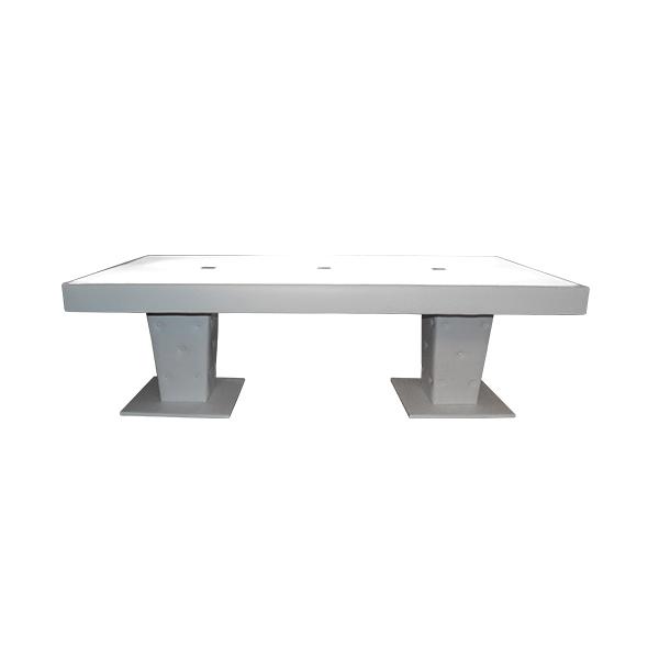 Rectangular 4x8 Illuminated Table The Lounge