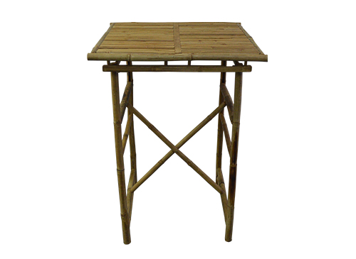 Bamboo folding square bistro table the lounge home cocktails bistro tables watchthetrailerfo