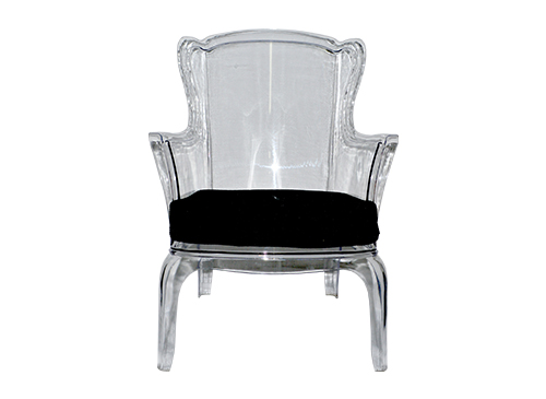 Throne Clear Armchair – The Lounge