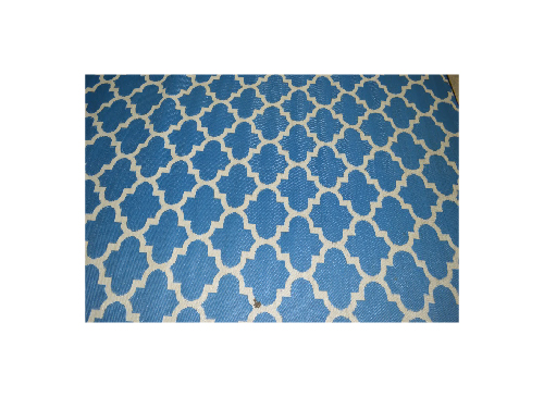 Exterior Arabic Blue 9 215 6 Rug The Lounge